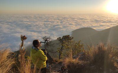 Pico del Águila, el segundo punto mas alto de la Ciudad de México.
